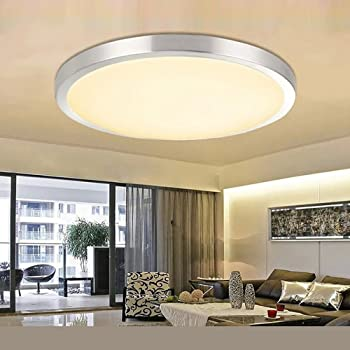 15W LED Deckenleuchte Deckenlampe Wohnzimmer Küche Leuchte Rund Energiespar IP44