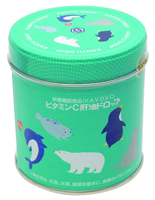 盆丁寧ペインティング河合(カワイ)ビタミンC肝油ドロップ 300粒