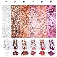 ACHICOO アイシャドー シャイニー ダイアモンド パール光沢 メタルカラー 各種カラーあり スモークブラウン 2#