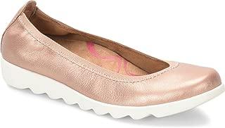 Comfortiva Womens Grace Closed Toe Slide Flats (Renewed)
