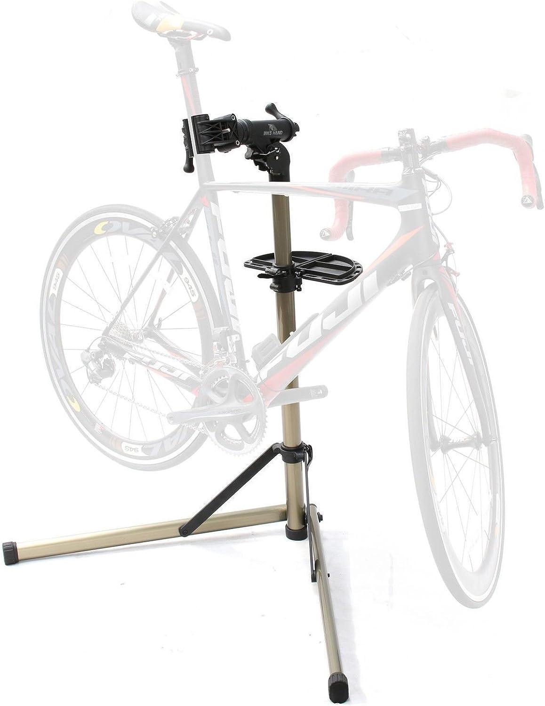 BIKEHAND Cycle Pro Mechanic Bicycle Repair Work Stand Rack Bike