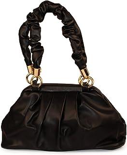 Girls Handbag & Shoulder Bag Stylish Design Soft Leather Quality (Black)