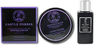 Castle Forbes Soluble en Agua Pre Shave Balm 150ml y Lavanda Crema Afeitar 200ml