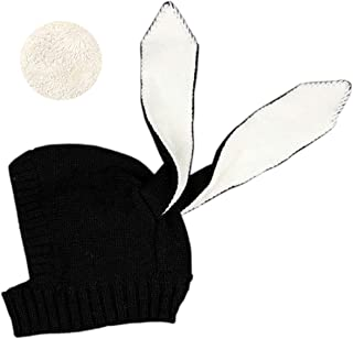 Baby Boys Girls Fleece Lining Cute Rabbit Bunny Ear Cap Earflap Hat Newborn Infant Kids Knitted Autumn Winter Warm Hat