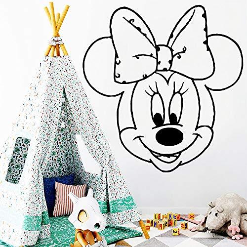 hetingyue Comic-kop, cartoon, muis, papier, decoratie van het huis, vinyl, decoratief