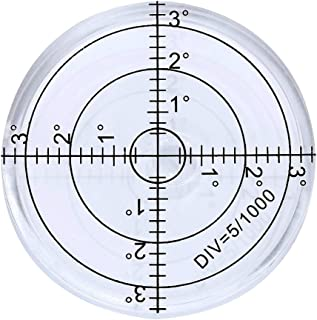 r_planning 水平器 アナログ 水準器 傾斜 測定 丸型 ホワイト