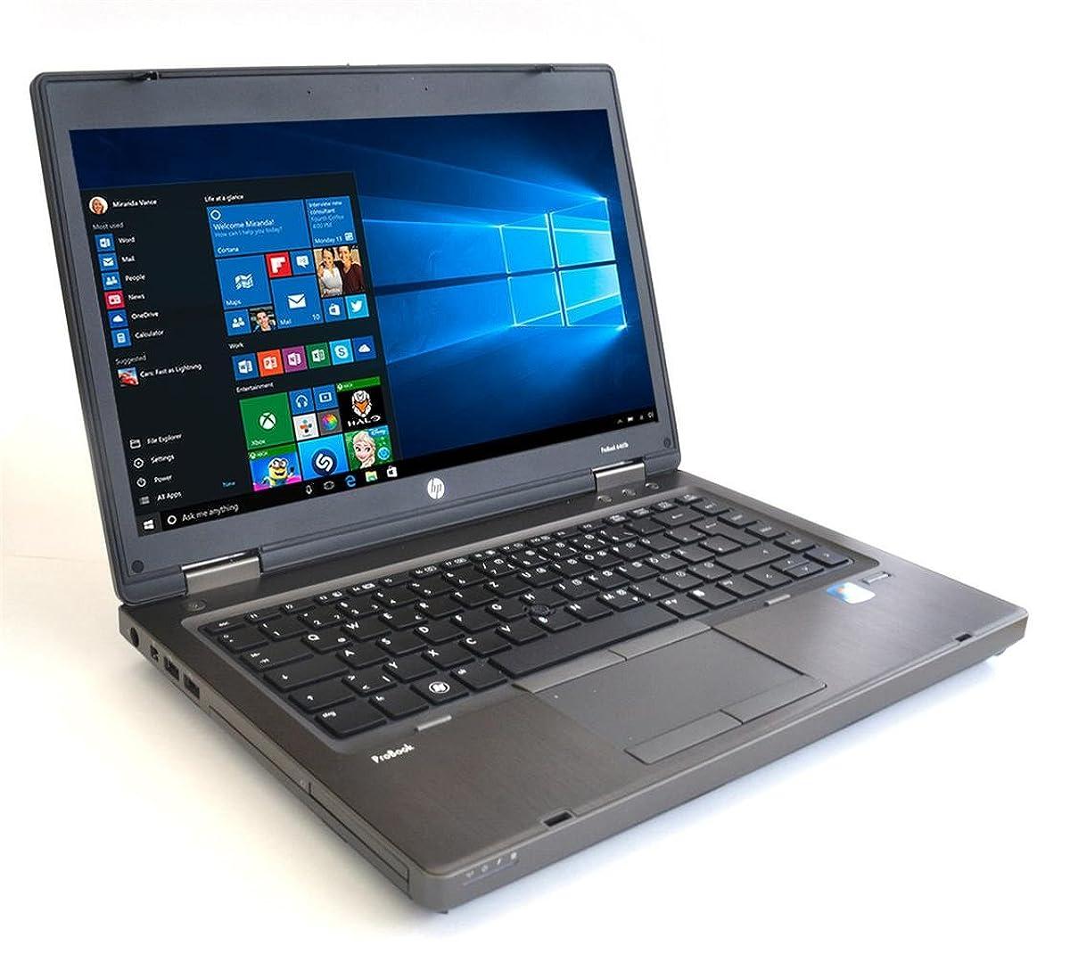 HP ProBook 6465b LAPTOP AMD A4 3310MX 2.1GHz - 4GB DDR3 - 250GB SATA - DVDRW - Windows 10 Home 64bit - (Renewed)