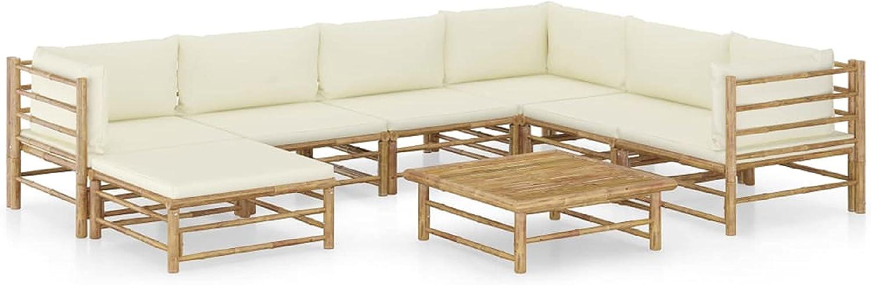 KA Company Outdoor Furniture Very 2021 new popular Set wit Piece 8 Garden Lounge