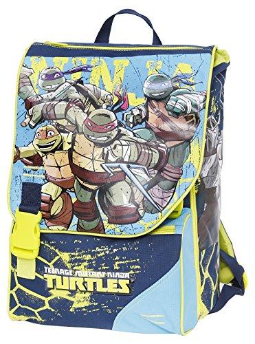 Giochi Preziosi: Mochila Escolar Ampliable de Tortugas Ninja  Incluye Daga