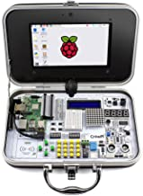 ELECROW Crowpi Raspberry Pi 4B 3B+ Kit for Learning Computer Science, Programming, Electronics(Advanced Kit)