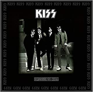 SOTT KISS Dressed to Kill Framed Album Cover Wall Art