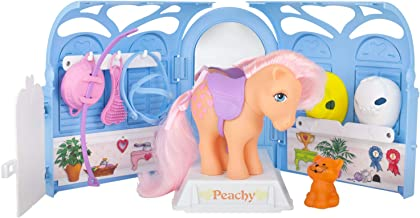 Basic Fun My Little Pony Retro Pretty Parlor Playset with Peachy