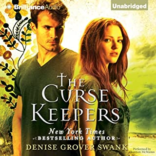 The Curse Keepers audiobook cover art