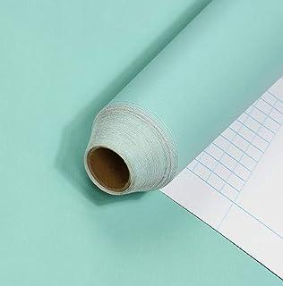 BENQUE 壁紙シール 無地 3D はがせる 防水 ウォールステッカー リメイク 45cm×10M エメラルドグリーン