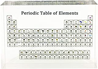 Periodic Table of Elements Educational Chart for Kids Students Teachers,Creative Chemistry Chart,School Classroom Home Office Science Decoration