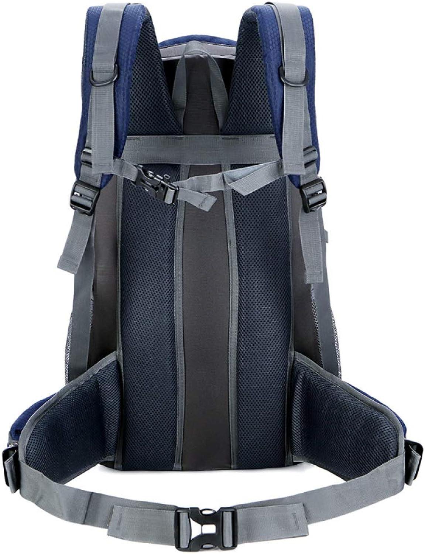 DSHWB Mountaineering Rucksack for LargeCapacity Outdoor Travel Backpack Hiking Bag Waterproof Lightweight MultiFunctional Practical Walking Bag