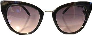 Foster Grant Sunglasses Selena Black with Gold Nose Bridge