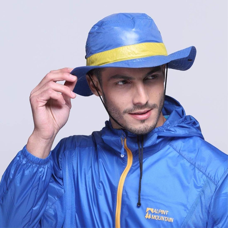 Dianye Summer outdoor folding sunshade mountaineering hatishing Hat sun hat