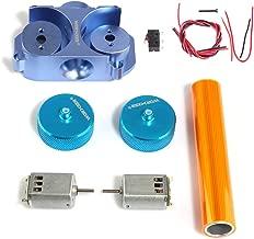 Yamix Worker Modified Flywheel Update Kits for nerf n-strike elite stryfe/rapidstrike CS-18 (Diamond Pattern) - Blue