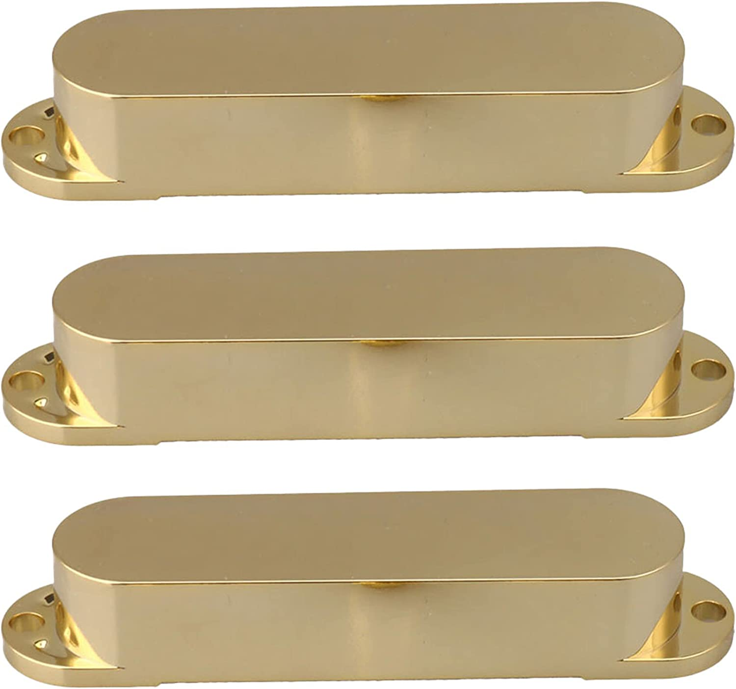 3PCS Gold Smooth Closed New arrival Shell Coil Guitar Courier shipping free shipping Pickup Electric Single