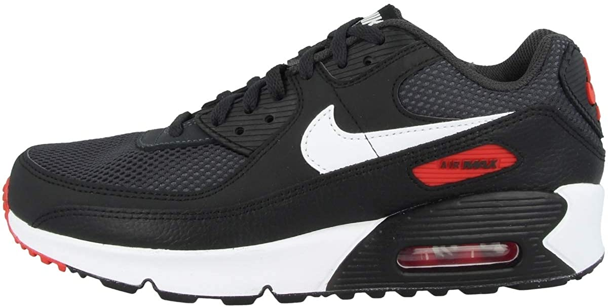Nike Youth Air Max 90 Clearance SALE! Limited time! GS Leather LTR Trainers Branded goods