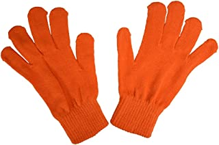 Ladies Gloves Magic Knit Gloves for Women Solid Colors