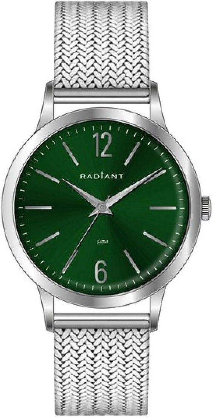 Radiant Reloj Analógico para Hombre de Cuarzo con Correa en Acero RA415609