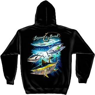 Fishing Hooded Sweat Shirt Tuna Time Off Shore Fishing BTB2377SW