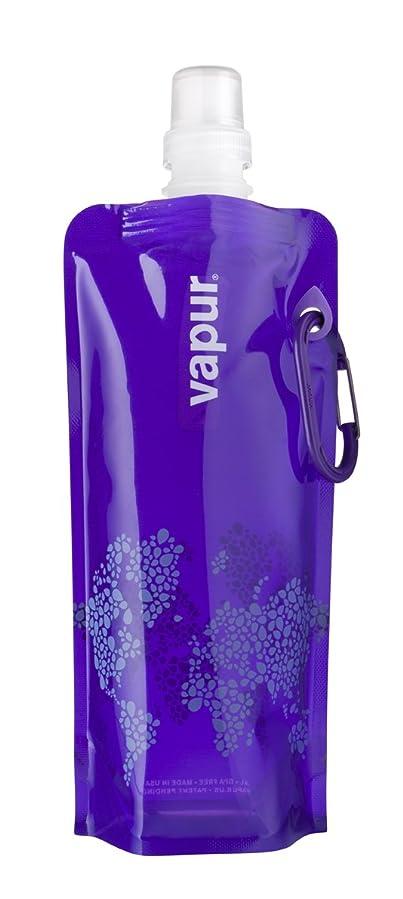 パッド放出約設定vapur(ヴェイパー) 携帯型ウォーターパック アンチボトル 0.5L パープル 640010105