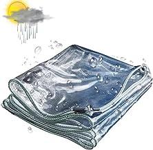 PVC gecoat doek dekzeil, Weerbestendig en Tear-Proof Garden Tarp met knoopsgat,3mX7m