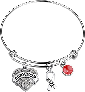 Multiple Myeloma Survivor Bracelet Thrombophilia Awareness Bracelet Brain Aneurysm Jewelry Migraine Awareness Gift