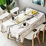 YuHengJin Tischdecke Tischtuch Pflegeleichte Tischwäsche