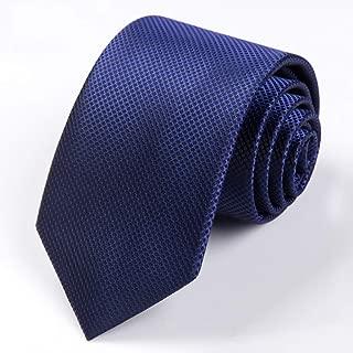 Men's Professional Tie Tie Casual Business Classic Gentleman Conventional Standard 150 × 7cm Tie CQQO (Color : E)