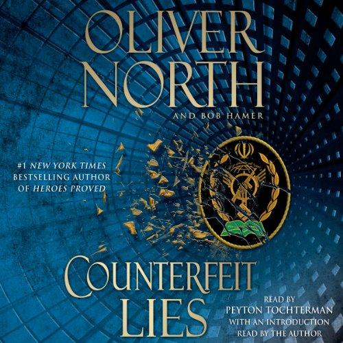Counterfeit Lies audiobook cover art