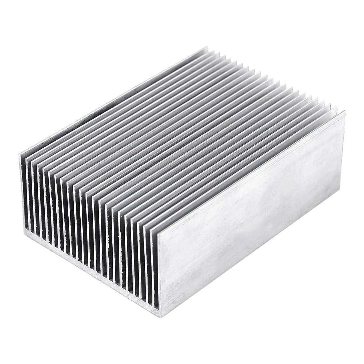 Aluminum Heatsink Cooling Fin Cooler for Led IC Module Or Computer 100(L) x 69(W) x 36 mm(H)