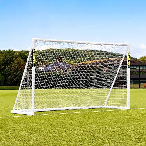 FORZA Junior Field Hockey Goal – 10 Foot x 6 Foot Weatherproof uPVC Field Hockey Training Goal [Net World Sports]