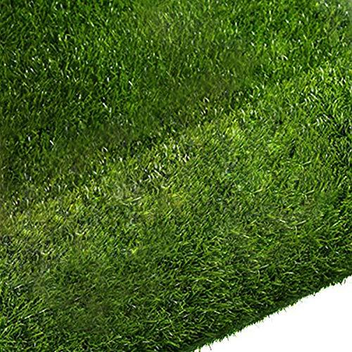 Quesuc La alfombra de césped artificial para balcones y terrazas exteriores es permeable al agua con protección UV, tamaño: 100x100 cm