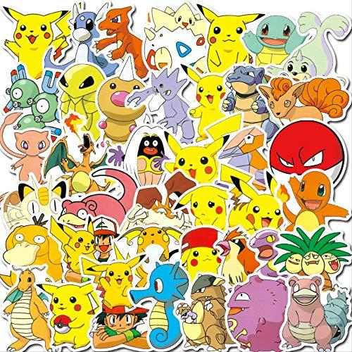 YYSDD Cartoon Anime Graffiti Stickers Emoji Stickers Computer Trolley Case Water Cup Waterproof Stickers 100 Pcs