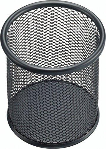 Helit h2518195-Portapenne in rete, 10 cm, colore: nero
