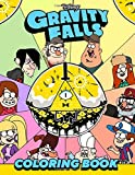 Gravity Falls Coloring Book: ideal Gift For Relaxation And Inspiration For Kids, Teens And Adults