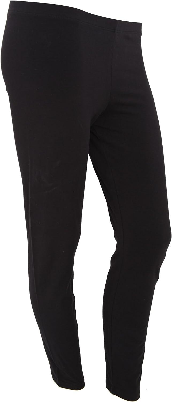 Bella + Canvas Womens/Ladies Cotton Spandex Leggings (6 US) (Black)