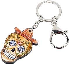 YCEOT Cowboy Skeleton schedel nieuwigheid sleutelh...