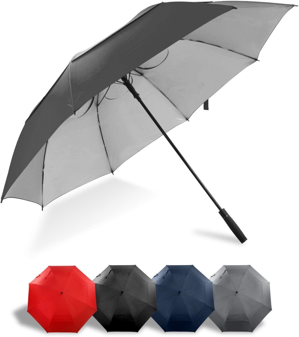 Lejorain 68 inch Large 新品未使用正規品 ファクトリーアウトレット Windproof Oversi Auto Golf Umbrella- Open