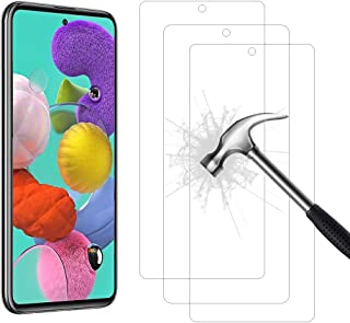 Tutetorna Screen Protector for Samsung Galaxy A51 [3Pack] [Case Friendly] [No Bubbles] [Easy Installation] [9H Hardness] [...