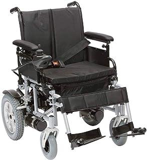 Sillas de ruedas eléctricas para adultos Silla de ruedas silla de ruedas, silla de Rehabilitación Médica for Personas Mayores, Personas antiguas, ligero plegable silla de ruedas eléctrica con reposapi