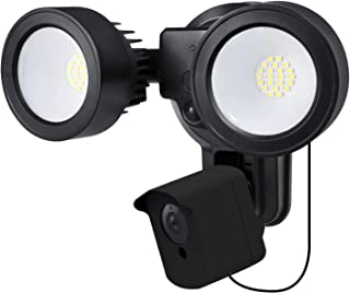 Wasserstein 4-in-1 Floodlight, Charger, Mount and Outdoor Case Compatible with Wyze Cam - Turn Your Wyze Cam into a Powerf...
