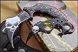 Z-HUNTER FIXED BLADE KARAMBIT COMBO 6.75' & 4.5' FULL TANG KNIFE W/NYLON SHEATH by ProTactical'US