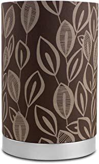 Mainstays Leaf Fabric Uplight Room Lamp