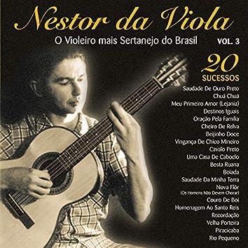 20 Sucessos: O Violeiro Mais Sertanejo do Brasil, Vol. 3