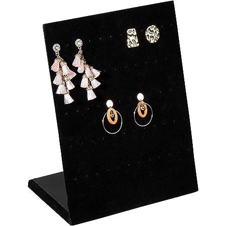 Earring Display Board Storage Holder 63 pairs